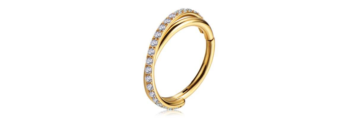 Achtung Bling Bling! Neue Clicker Ringe - Hochwertige Kristall Clicker Ringe