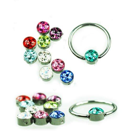 Flach Lippenbändchen piercing Ring