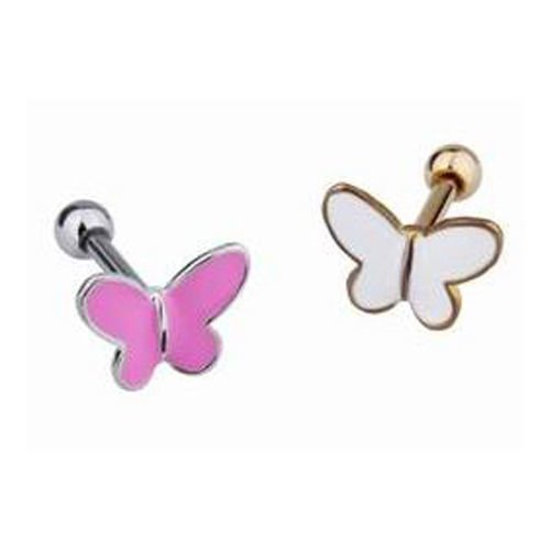 Schmetterling Ohr Helix Tragus Piercing Stecker