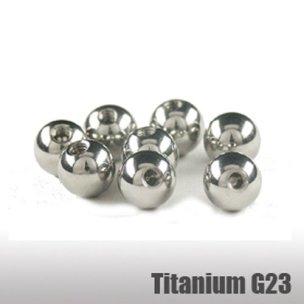 Ttian piercing einzelteile 1,2mm zum schrauben