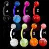 Bauchnabel Piercing Kunststoff flexibel