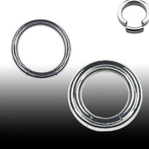 Segment Ring 1,2mm Ohr Ring Tragus Piercing