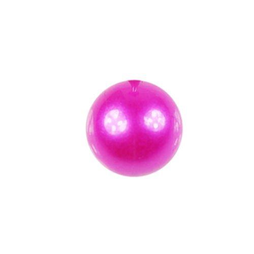 Pink Perle piercing Erstz Kugel 1,6mm Gewinde