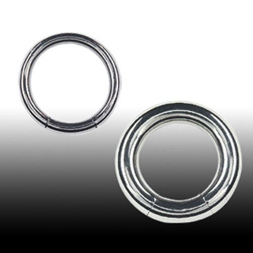 Segment Ring Titan 2mm Intimpiercing Brustwarzenpiercing