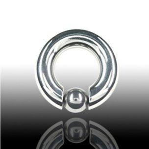 Ohrpiercing Ring 6mm oder als Intimpiercing