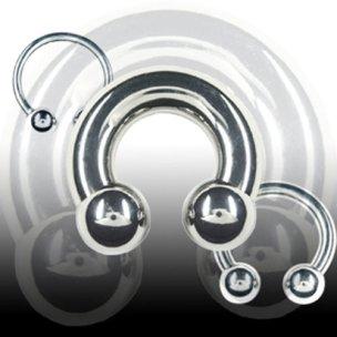 Intimpiercing Hufeisen 5mm Ohrpiercing Ring