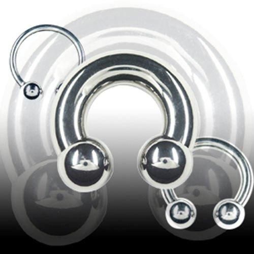 Lippenpiercing Titan Hufeisen 1,2mm Ohr Piercing