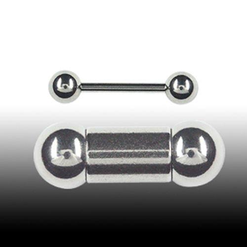 Stahl Barbell Brust Bridge Piercing