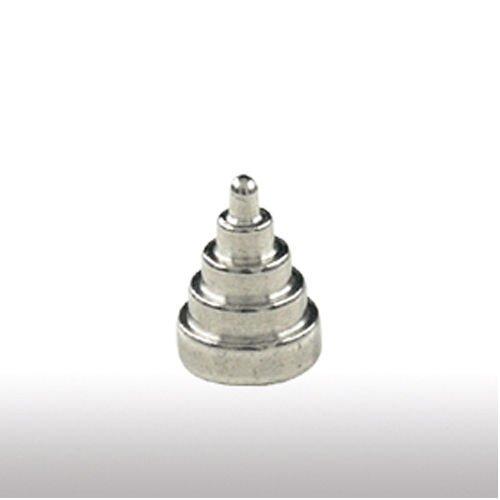 piercing verschluss 7 Stufe Pyramide Hantel