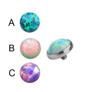 Opal Piercing Aufsatz für dermal anchor