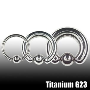 Intimpiercing Titan 2mm Septum Piercing Ring