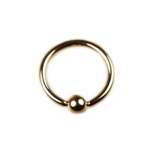 Lippenpiercing Rosegold Ring 1,6mm Ohrpiercing