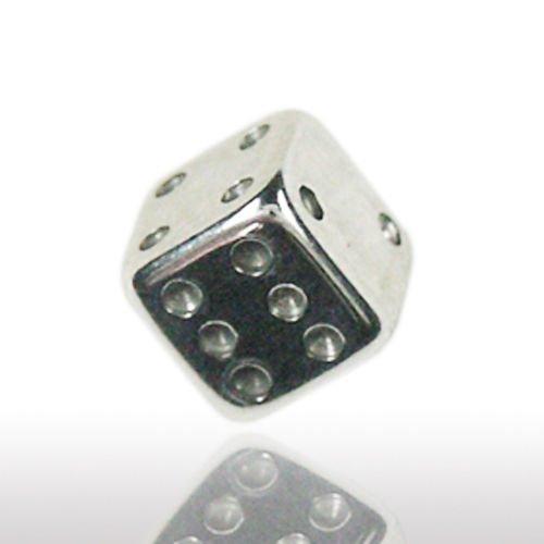 piercing verschluss würfel für ohrstecker