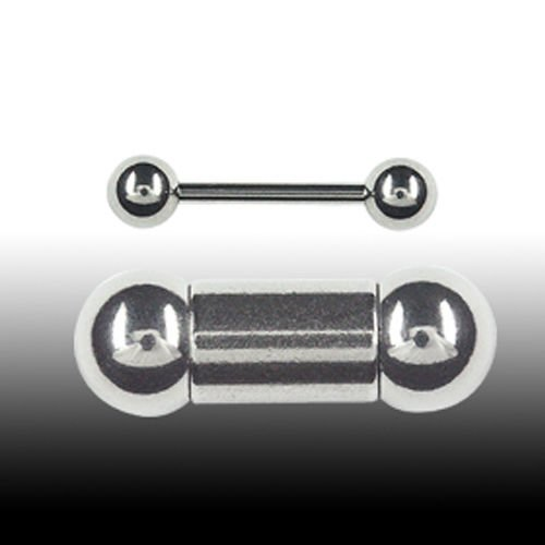 zungenpiercing Stecker 1,6mm Nippelpiercing