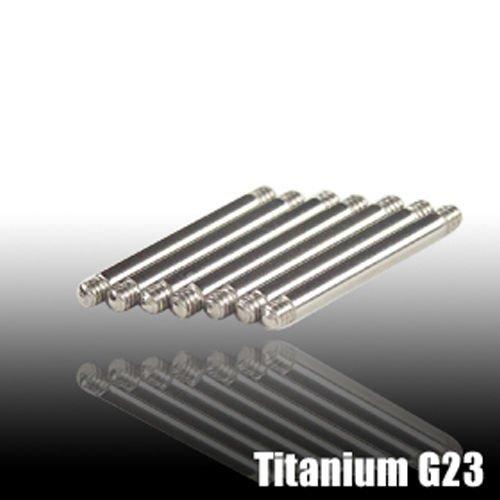 Titan barbell 1,6mm Piercing Ersatz Stecker