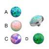 haut anker Aufsatz mit opal