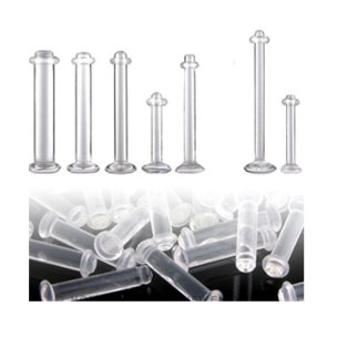 Zungenpiercing Retainer Ohr Piercing Retainer 1,6mm