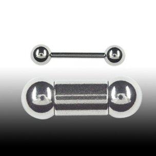 Nippelpiecing mann 2mm Barbell Penis Piercing