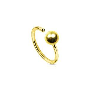 nostril piercing Septum Ring zum biegen
