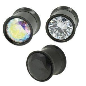 Flesh Tunnel riesige kristall in schwarz