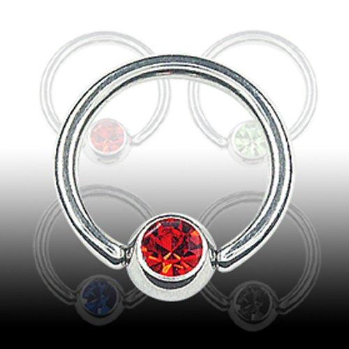 Daith Piercing Ring mit Glitzer Ohr Piercing