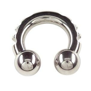 Septum Ring 4mm und 5mm Hufeisen mit kerben