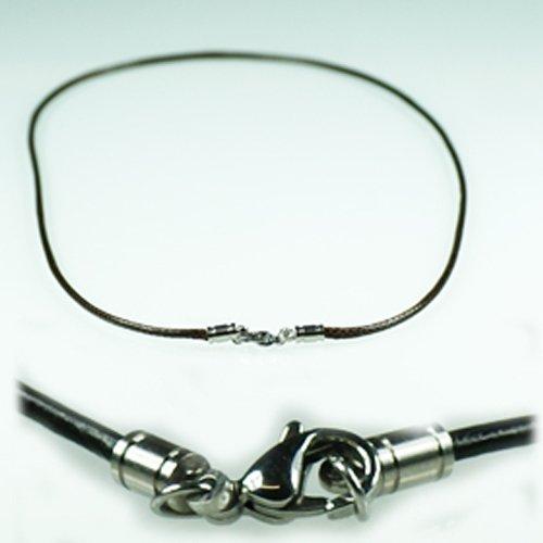 Schwarz baumwolle halsband 3mm