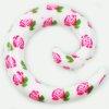 Dehnschnecke weisse Rosen zum ohr dehnen