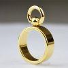 Edelstal Gold BDSM Ring der O für Frau