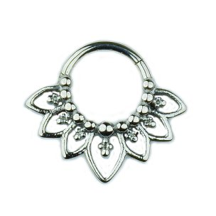Septum Clicker Ornament Clicker Ring