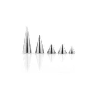 Titan Piercing lange Spitze Ersatzteile 1,6mm Gewinde