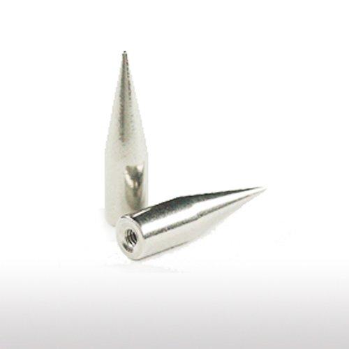 Lange Spitze Titan Piercing Ersatzteile 1,6mm Gewinde