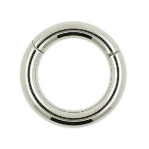 Segmentring Clicker Titan 3mm Intim Ring Männer