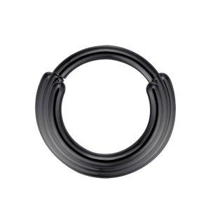 Septum Clicker 3 Ringe Silber Gold Rosegold