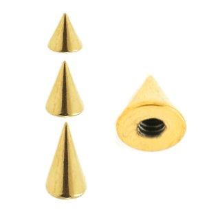 Gold Piercing Spitze Spike