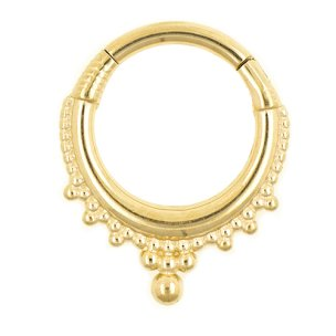 Septum Clicker Kugel Ornament Rand
