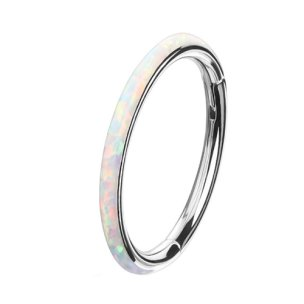 Segmentring Clicker Opal Rand