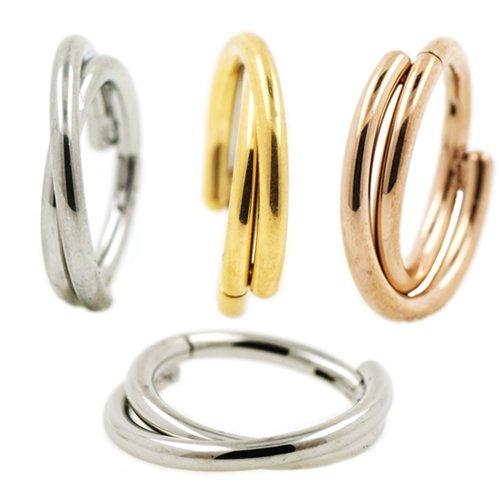 X-Ringe Clicker Ohr Helix Piercing