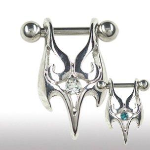 Helix Ohr Piercing Ornament Schild Schmuck mit Kristall