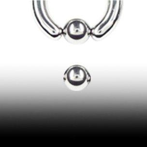 Titan Piercing Ersatz Kugel für Klemmring