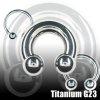 Intimpiercing Ring Titan 2mm Ring Brustwarzenpiercing