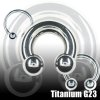 Intim Ring Titan 3mm CBR Septum piercing
