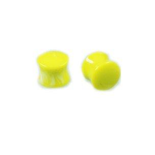 Kunststoff Ohr plugs Gelb