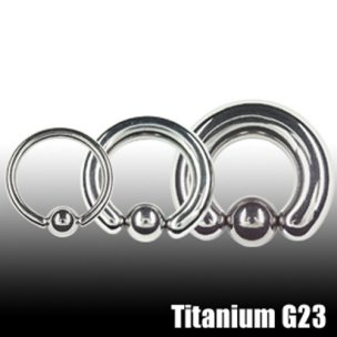 Ohr Piercing Ring Titan 1,2mm Tragus Piercing