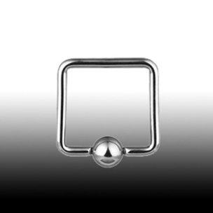 Brustwarzenpiercing 4 Ecke Ohrpiercing Ring
