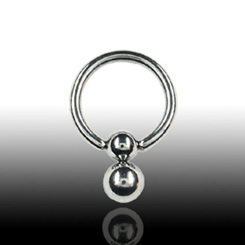 Intimpiercing Ring aus als Ohrpiercing